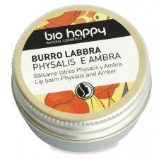 Balsamo labbra Bio Happy al Physalis e Ambra