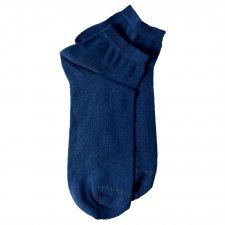 Bamboo ankle socks blue