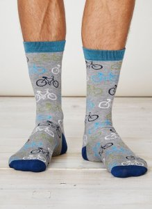 Bamboo Mens Cycler socks