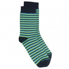 Bamboo MidCalf Socks avio striped