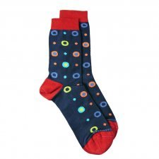 Bamboo midcalf socks bubbles