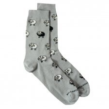 Bamboo MidCalf Socks Sheep