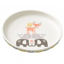 Bamboo plate Wood animals