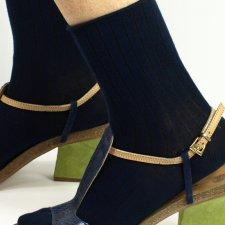 Bamboo shorts socks without cuff