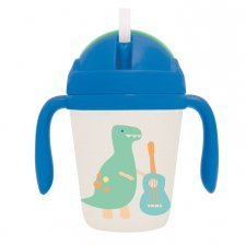 Bamboo Sippy Cup - Dino Rock