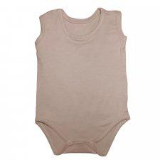 Bamboo sleeveless body - Nude