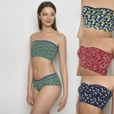 Bandeau top THERESE in Cotone Biologico Equo