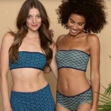 Bandeau top THERESE in Cotone Biologico