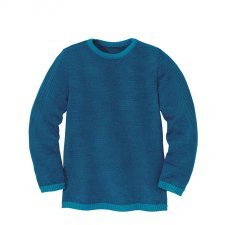 Basic jumper Disana in organic merinos wool