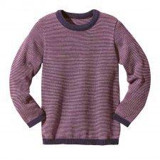 Basic jumper Disana in organic merinos wool