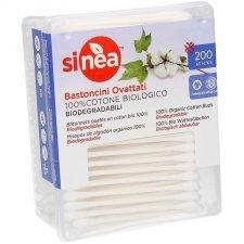 Bastoncini ovattati in cotone biologico