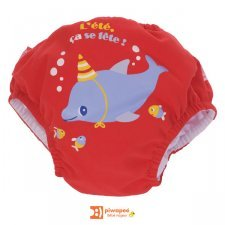 Bathing trunks diaper Dolphin Piwapee