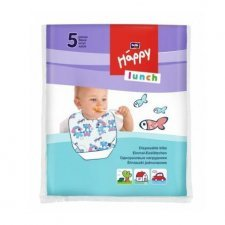 Bavaglini usa e getta Happy BellaBaby - 5 pezzi
