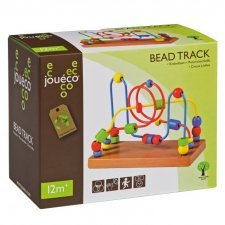Bead track in wood