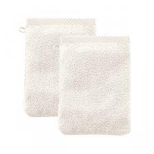 Washing glove in organic cotton - pack of 2