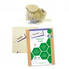 beeskin S - 17x17 cm - food film in organic cotton and beeswax