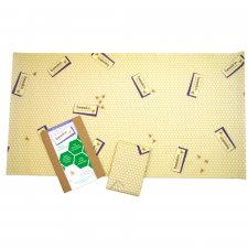beeskin XL - 35x65 cm - food film in organic cotton and beeswax