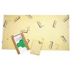 beeskin XL - 35x65 cm - pellicola alimentare in cotone bio e cera d'api