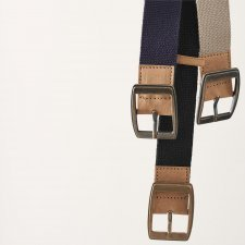 Belt vegan in organic cotton