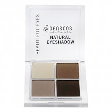 Benecos vegan Natural 4 eyeshadow Coffee and Cream