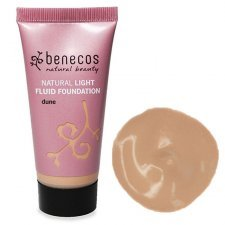 Benecos natural vegan fluid foundation Dune