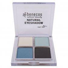 Benecos vegan Natural 4 eyeshadow True Blue