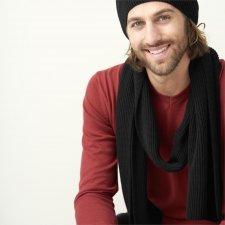Sciarpa Ferrara in 100% cotone biologico a maglia