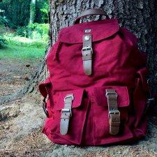 Big hemp rucksack