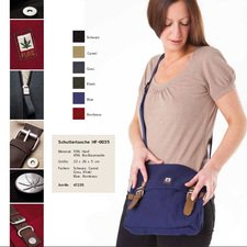 Big hemp shoulder bag