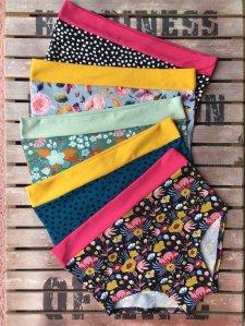 Bikini Colorio high-waisted brief in organic cotton
