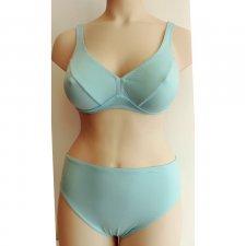 Swimsuit Bra cup C organic cotton Turquoise