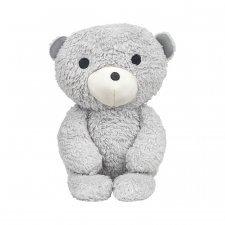 Bimle grey bear organic cuddly toy in organic cotton