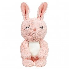 Bimle rose rabbit organic cuddly toy in organic cotton