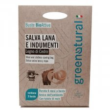 Bioactive fragrance for wool on cedar wood 3 sachets