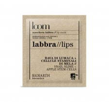 Bioearth Loom Lip mask with snail slime and apple stem cells