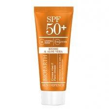 Bioearth Sun Defence Crema Solare Viso - SPF50