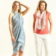 Block Printed Sarong scarf
