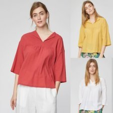 Blouse Georgette in organic cotton