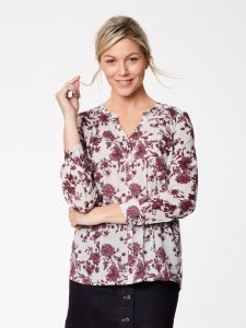 Blouse Pavanne in organic cotton