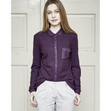 Blouse woman Anette in hemp and organic cotton