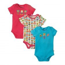 Body Frugi Bumble girl in organic cotton - 3 pieces
