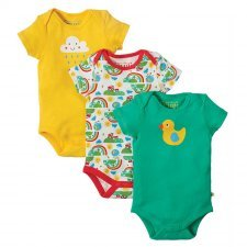 Body Frugi Happy Days uinisex in organic cotton - 3 pieces
