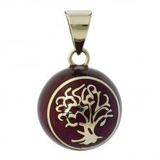 "Bola Purple with ""Tree of Life"""