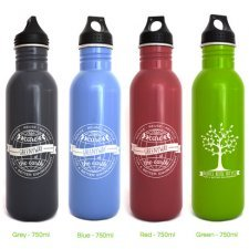 Borraccia Greenyway Color in acciaio inox 750 ml