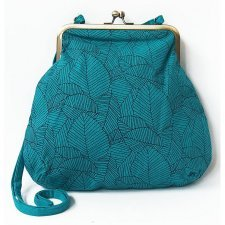 Borsa butterfly Origami in Lino EquoSolidale