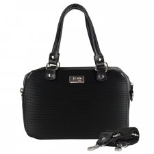 Borsa Camera Bag Black in similpelle vegetale e pvc riciclato
