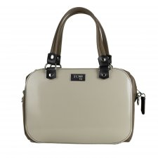 Borsa Camera Bag Mud in similpelle vegetale e pvc riciclato
