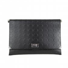 Borsa Clutch Basic Vegan in materiale riciclato ecologico