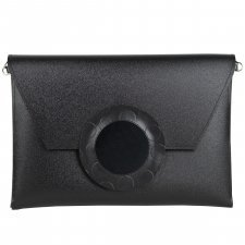 Borsa Clutch Decoro Vegan in materiale riciclato ecologico