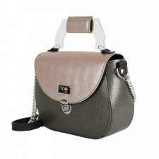 Borsa Everyday Stardust in eco-pelle vegetale e pvc riciclato